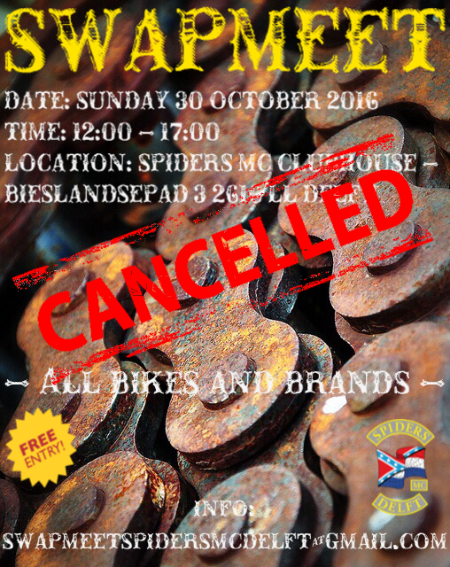 swapmeet cancelled